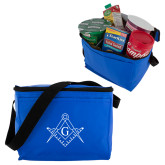 Six Pack Royal Cooler-Square and Compass with G