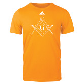 Adidas Gold Logo T Shirt-Square and Compass with G