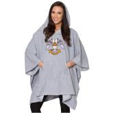 Ladies Grey Sherpa Poncho-Freemasons