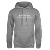 Russell DriPower Grey Fleece Hoodie-Scottish Rite Wordmark