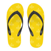 Full Color Flip Flops-Square and Compass with G