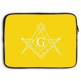 15 inch Neoprene Laptop Sleeve-Square and Compass with G