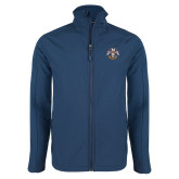 Navy Softshell Jacket-Freemasons