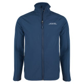Navy Softshell Jacket-Scottish Rite Wordmark