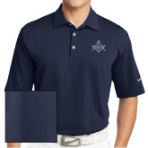 Nike Sphere Dry Navy Diamond Polo-Square and Compass with G