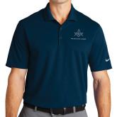 Nike Golf Dri Fit Navy Micro Pique Polo-Not Just A Man A Mason