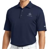 Nike Golf Tech Dri Fit Navy Polo-Not Just A Man A Mason