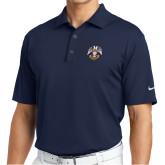 Nike Golf Tech Dri Fit Navy Polo-Spes Mea In Deo Est