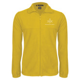 Fleece Full Zip Gold Jacket-Not Just A Man A Mason