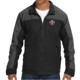 DRI DUCK Horizon Charcoal/Black Canvas Jacket-Freemasons