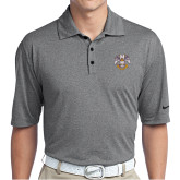 Nike Golf Dri Fit Charcoal Heather Polo-Spes Mea In Deo Est
