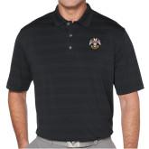 Callaway Horizontal Textured Black Polo-Freemasons