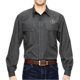 DRI DUCK Black Field Shirt-Freemasons