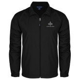 Full Zip Black Wind Jacket-Not Just A Man A Mason
