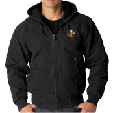 DRI DUCK Cheyenne Black Hooded Jacket-Freemasons