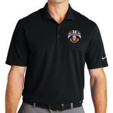 Nike Golf Dri Fit Black Micro Pique Polo-Freemasons
