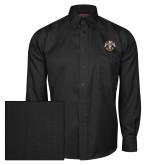 Red House Black Herringbone Long Sleeve Shirt-Freemasons