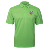 Lime Green Silk Touch Performance Polo-Spes Mea In Deo Est