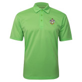 Lime Green Silk Touch Performance Polo-Deus Meumque Jus