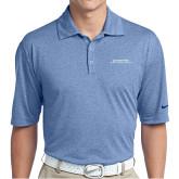 Nike Golf Dri Fit Royal Heather Polo-Scottish Rite Wordmark