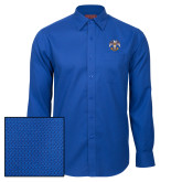 Red House Royal Diamond Dobby Long Sleeve Shirt-Freemasons