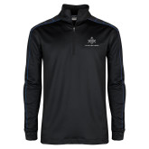 Nike Golf Dri Fit 1/2 Zip Black/Royal Pullover-Not Just A Man A Mason