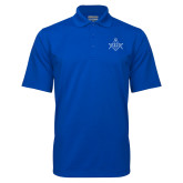 Royal Mini Stripe Polo-Square and Compass with G