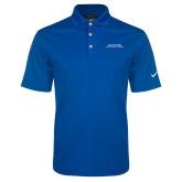 Nike Golf Dri Fit Royal Micro Pique Polo-Scottish Rite Wordmark