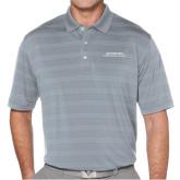 Callaway Horizontal Textured Steel Grey Polo-Scottish Rite Wordmark
