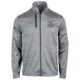 Callaway Stretch Performance Heather Grey Jacket-Square and Compass with G