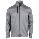 Callaway Stretch Performance Heather Grey Jacket-Scottish Rite Wordmark