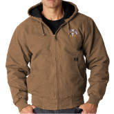 DRI DUCK Cheyenne Field Khaki Hooded Jacket-Freemasons