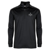 Nike Golf Dri Fit 1/2 Zip Black/Grey Pullover-Square and Compass with G