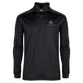 Nike Golf Dri Fit 1/2 Zip Black/Grey Pullover-Not Just A Man A Mason