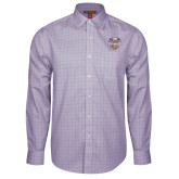 Red House Purple Plaid Long Sleeve Shirt-Freemasons