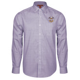 Red House Purple Plaid Long Sleeve Shirt-Spes Mea In Deo Est