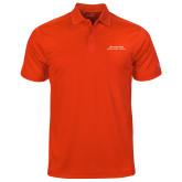 Under Armour Orange Performance Polo-Scottish Rite Wordmark