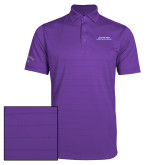 Callaway Opti Vent Purple Polo-Scottish Rite Wordmark