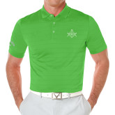 Callaway Opti Vent Vibrant Green Polo-Square and Compass with G