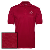 Cardinal Dry Mesh Polo-Square and Compass with G