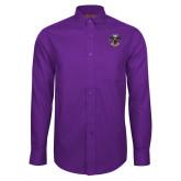 Red House Purple Long Sleeve Shirt-32 Eagle Freemasons