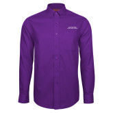 Red House Purple Long Sleeve Shirt-Scottish Rite Wordmark