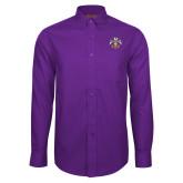 Red House Purple Long Sleeve Shirt-Freemasons