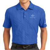 Nike Dri Fit Royal Embossed Polo-Not Just A Man A Mason