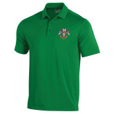 Under Armour Kelly Green Performance Polo-Spes Mea In Deo Est