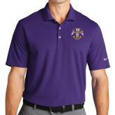 Nike Golf Dri Fit Purple Micro Pique Polo-Spes Mea In Deo Est