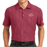 Nike Dri Fit Cardinal Embossed Polo-Square and Compass with G