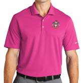 Nike Golf Dri Fit Fusion Pink Micro Pique Polo-Deus Meumque Jus
