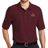 Cardinal Easycare Pique Polo-Square and Compass with G