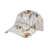 Realtree Xtra Snow Structured Hat-Square and Compass with G